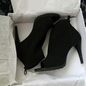 Calvin Klein bootie heels